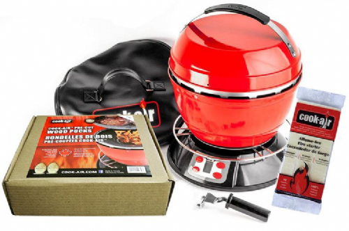 Cook-Air Starter Package (Red Grill)
